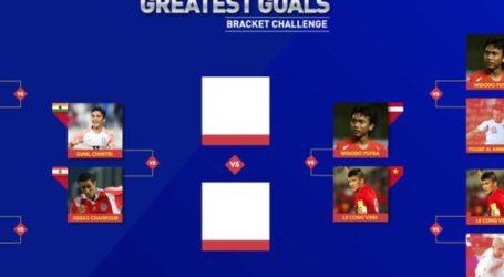 Gol Salto Widodo Cahyono Putro Jadi Finalis Voting Gol Terbaik Piala Asia