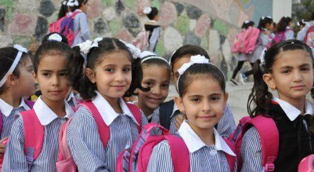 1,35 Juta Siswa Palestina Mulai Sekolah Besok