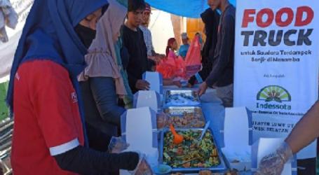 Indessota-ACT Salurkan Bantuan 3.500 Makan Siap Santap