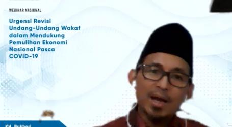 Bukhori: Persoalan Wakaf di Indonesia Perkara Legalitas