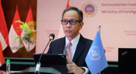 RI Ingatkan DK PBB Bersiap Hadapi Tantangan Keamanan Pasca-Pandemi