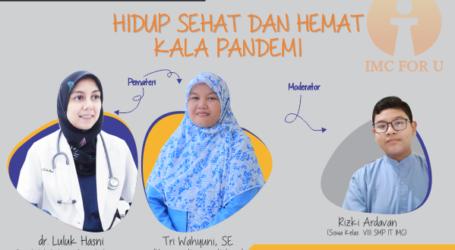 Insan Mandiri Cibubur Akan Adakan Webinar 'Hidup Sehat Dan Hemat Kala Pandemi'