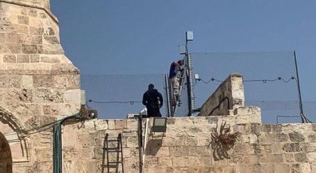 Israel Pasang Sensor Khusus di Al-Aqsa