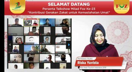 Forum Zakat Adakan Talkshow Milad ke-23