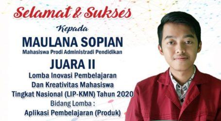 Mahasiswa STKIP Muhammadiyah Bogor Raih Juara 2 Nasional LIP-KMN