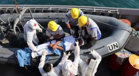 KRI Sultan Hasanuddin 366 Selamatkan Orang Terapung di Laut Mediterania