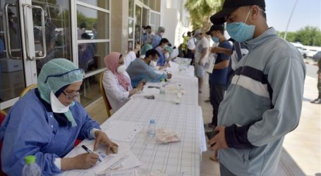 Gaza Terima Vaksin Covid-19 Pertama Hari ini