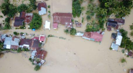 Sungai Harau Meluap, Wilayah Kabupaten Lima Puluh Kota Terendam Banjir
