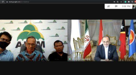 Pertemuan Virtual Dubes Iran dengan Redaksi Kantor Berita MINA