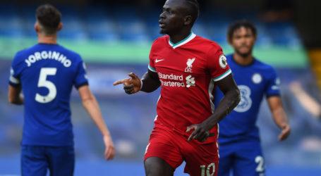 Mane Rusak Pasukan Lampard dengan Kartu Merah