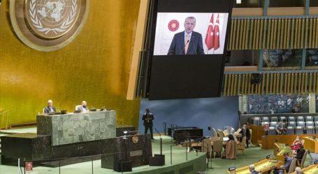 Duta Besar Israel Tinggalkan Sidang MU PBB, Erdogan Kecam Israel