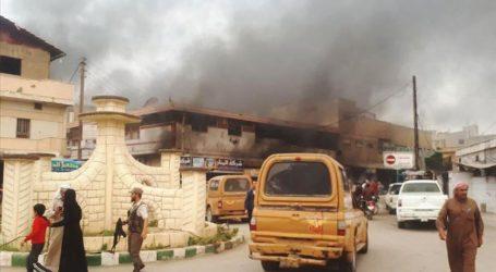 Serangan Bom di Timur Laut Suriah Lukai 21 Warga Sipil
