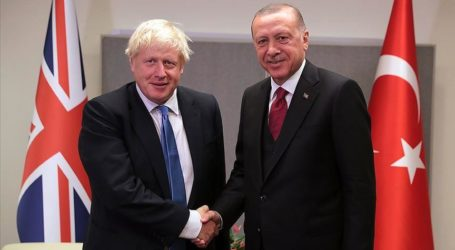 Erdogan dan PM Inggris Bahas Perselisihan Azerbaijan-Armenia