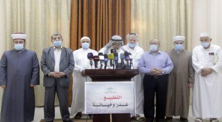 Ulama Palestina: Normalisasi Adalah Kejahatan Agama dan Kemanusiaan