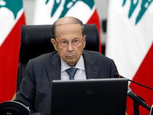 Presiden Lebanon Terima Pengunduran Diri Adib