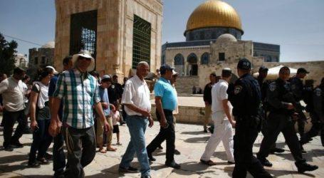 Puluhan Pemukim Yahudi Lakukan Tur Provokatif ke Al-Aqsa