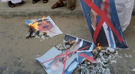 Warga Palestina Protes Normalisasi Bahrain-Israel
