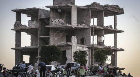HRW: Pengeboman Rusia di Idlib Mungkin Kejahatan Perang