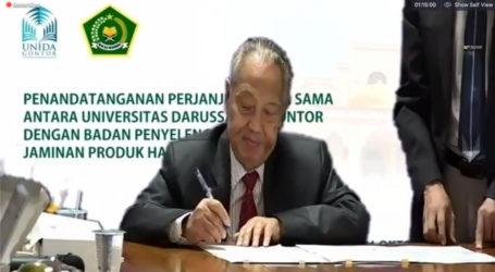 BPJPH, Unida Gontor Jalin Kerjasama Bidang Jaminan Produk Halal