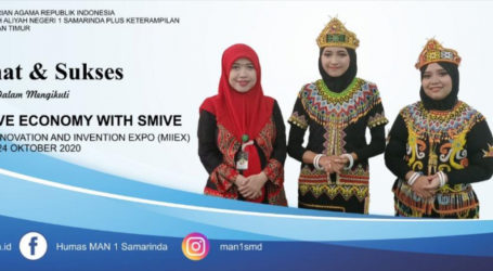 MAN 1 Samarinda Raih Perak Macao International Innovation and Invention Expo