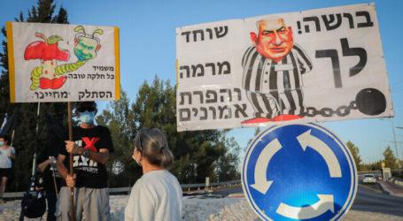 Puluhan Ribu Warga Israel Protes Netanyahu
