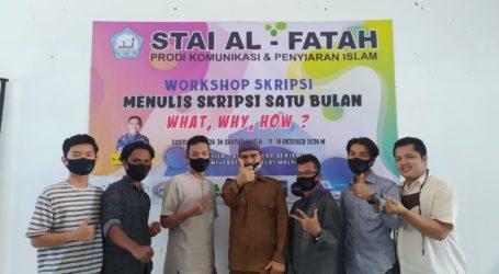 STAI Al-Fatah Gelar Workshop Bengkel Skripsi
