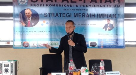 STAI Al-Fatah Adakan Seminar Motivasi Strategi Meraih Impian