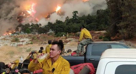 Seorang WNI Terjun Bantu Pemadaman Kebakaran di California