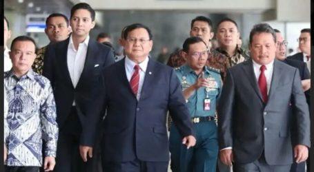 Prabowo Tiba di AS Penuhi Undangan Menhan Mark Esperr