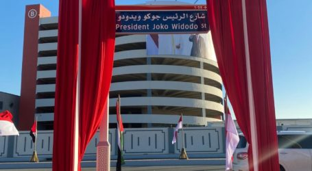 """Presiden Joko Widodo"" Jadi Nama Jalan di Abu Dhabi, UEA"