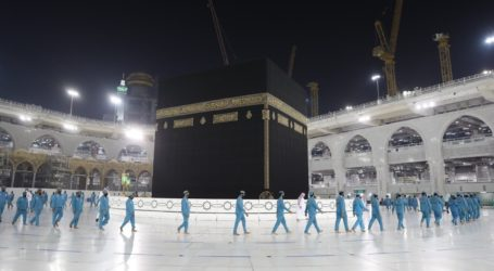 Masjidil Haram Siap Terima Kloter Pertama Jamaah Umrah