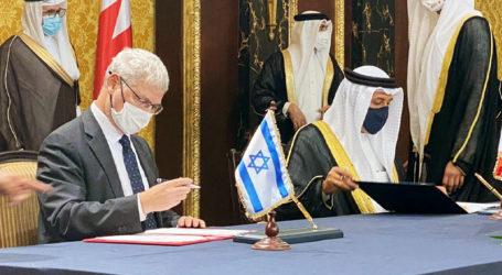 Israel dan Bahrain Tandatangani Tujuh Nota Kesepahaman