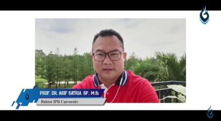 Wisuda Daring, Rektor IPB Harap Alumni Selalu Jadi Pembelajar Tangguh