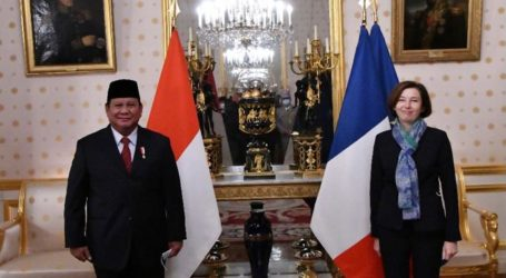 Menhan RI dan Menhan Perancis Bahas Industri Pertahanan Indonesia