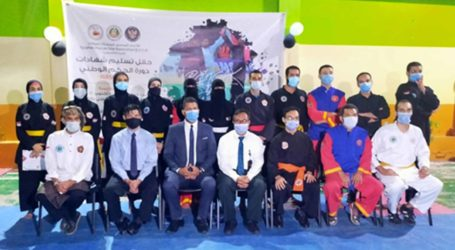 Antusiasme Tinggi, 14 Warga Mesir Terima Sertifikat Wasit-Juri Pencak Silat
