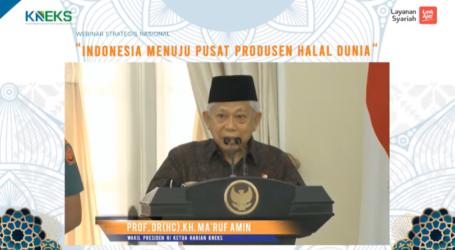 Wapres Sampaikan Langkah Strategis Indonesia Jadi Pusat Produsen Halal Dunia