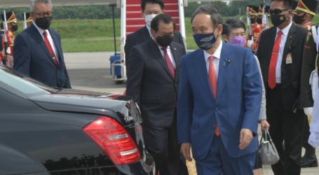 Seskab Pramono Anung Sambut Kedatangan PM Jepang di Soekarno-Hatta