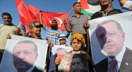 MEMO: Popularitas Turki Meningkat di Palestina, Mesir Turun