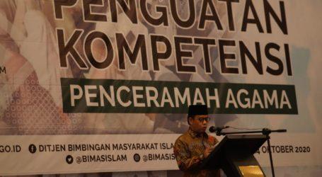 Kemenag: Penguatan Kompetensi Penceramah Telah Dilaksanakan di 17 Provinsi