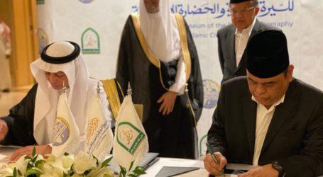 JK Saksikan Penandatanganan PKS Museum Muhammad SAW Indonesia