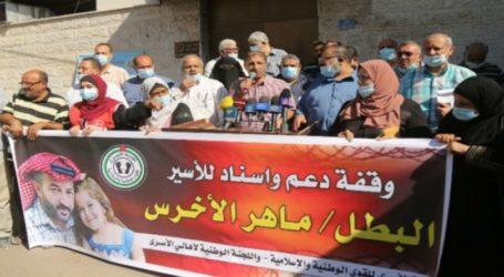 Warga Gaza Lanjutkan Aksi Solidaritas Bebaskan Tahanan Mogok Makan