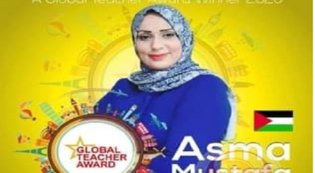 Asma Mustafa, Guru Palestina Juara Global Teacher Prize 2020