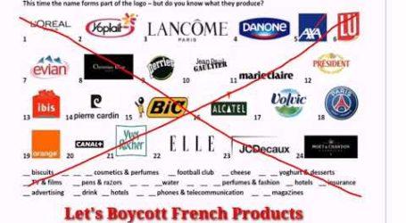 Boikot Produk Prancis Meluas di Timur Tengah