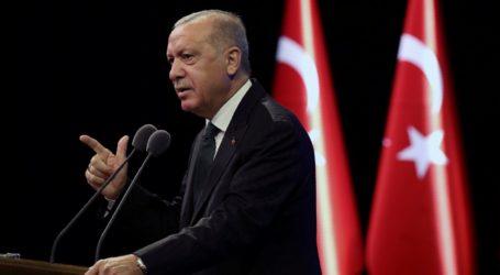 Erdogan Serukan Boikot Barang-Barang Prancis
