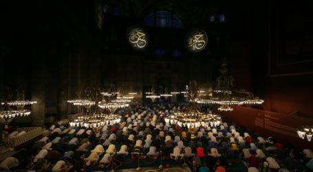 Lebih 1,5 Juta Orang Kunjungi Hagia Sophia Sejak Kembali Sebagai Masjid