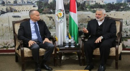 Haniyeh Bertemu dengan Mladenov Bahas Pemilu Palestina