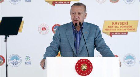 Erdogan Sindir Macron, Diminta untuk Periksa Mental