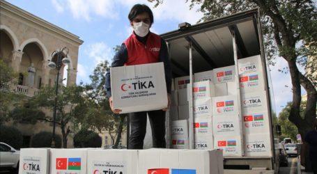 Turki Kirim 40 Ton Bantuan Pangan untuk Azerbaijan