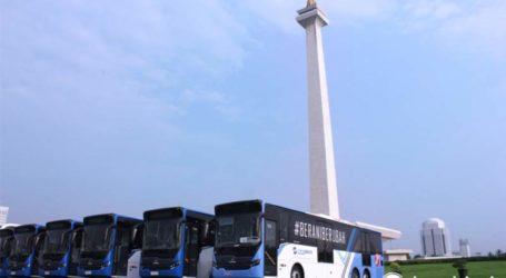 "DKI Jakarta Raih ""Sustainabel Transport Award 2021"""