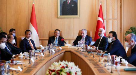 Ketua MPR RI-Ketua Parlemen Turki Bahas IT-CEPA